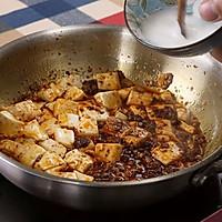 【变厨神】麻婆豆腐 吃不到别人豆腐、那就吃自家麻婆豆腐~的做法图解6