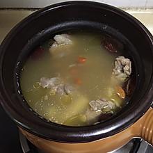 枸杞红枣淮山猪骨汤(补)