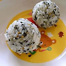 宝宝辅食--高钙饭团