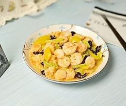 #肉食者联盟#黄瓜炒虾仁的做法