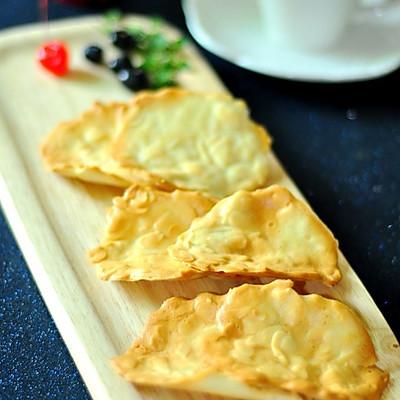 香香脆脆的下午茶小点---杏仁瓦片酥
