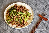 芦笋炒牛柳的做法