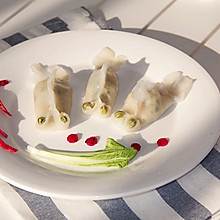 【宝宝辅食】+小白菜虾肉蒸饺