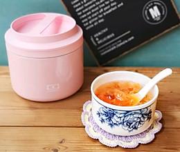 清香软糯——木瓜银耳桃胶羹的做法