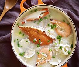 鲜掉你眉毛的海鲜粥的做法