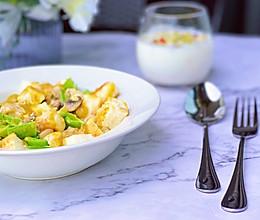 #美食新势力#  咖喱馒头鸡胸沙拉的做法