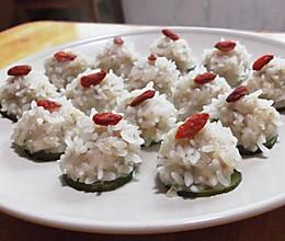晶莹剔透,最简单、最美味的蒸菜——【珍珠丸子】的做法
