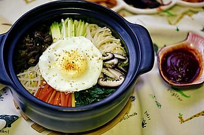 韩国石锅拌饭~