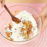 糯糯南瓜饼,非油炸的!的做法图解3
