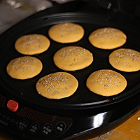 利仁电饼铛试用之豆沙南瓜饼的做法图解12