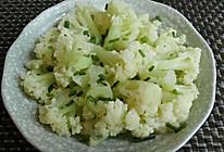 清炒有机花菜的做法
