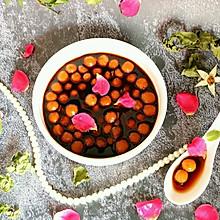 #秋天怎么吃#玫瑰姜糖小圆子