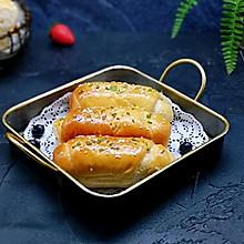 葱香全麦酸奶面包卷#新年自制伴手礼,红红火火一整年!#