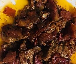 番茄(酱)炒猪肉的做法