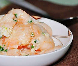 蛋白虾仁的做法