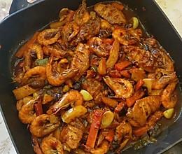 焖锅饭的做法