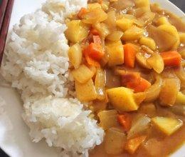 咖喱土豆洋葱杏鲍菇胡萝卜【素食】的做法