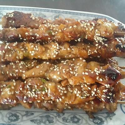 竹签鸡肉串