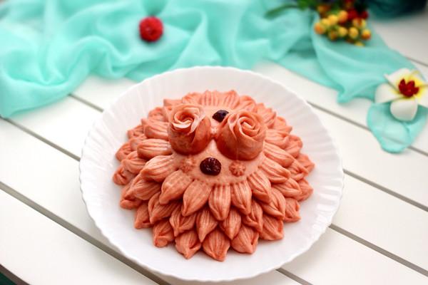 豆沙花样馒头#福临门暖冬宴幸福面#的做法