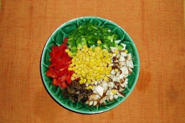 缤纷蔬菜粒的做法