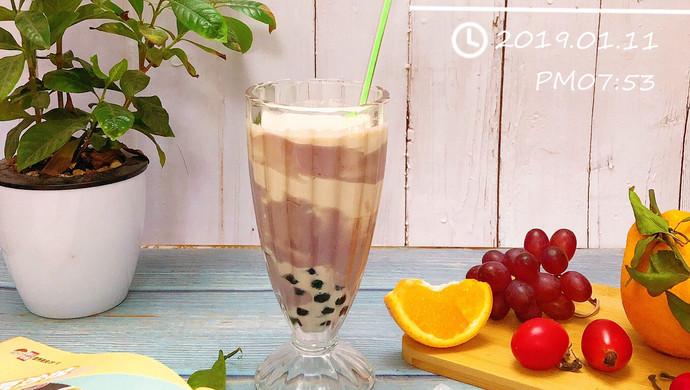 超香超浓郁的芋泥啵啵奶茶