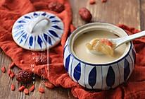 枸杞牛奶炖花胶的做法