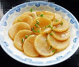 蚝汁炖白萝卜的做法
