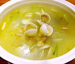 姜丝蛤蜊汤