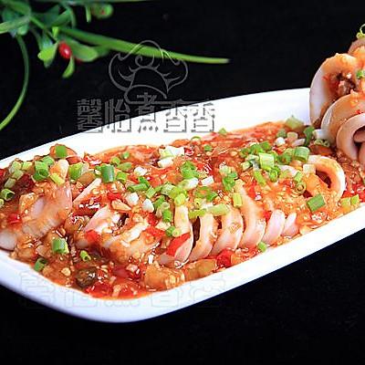 零厨艺也能轻松搞定的宴客菜---浇汁鱿鱼