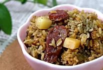 黑芝麻豆浆焖饭的做法