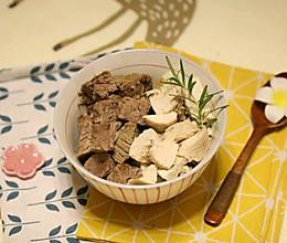 白卤牛腱鸡胸肉:减脂增肌的做法