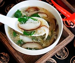 香菇蛋花汤的做法
