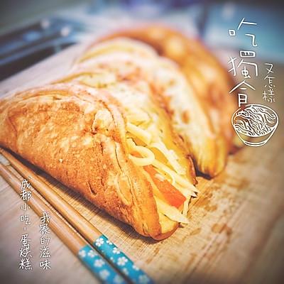 蛋烘糕 (微博热传的成都小吃)