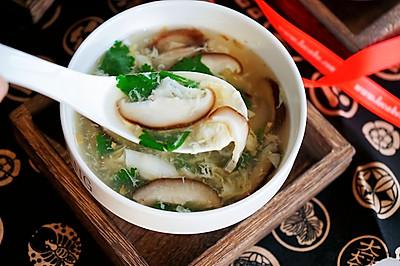 香菇蛋花汤
