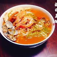 韩国海鲜汤的做法图解9