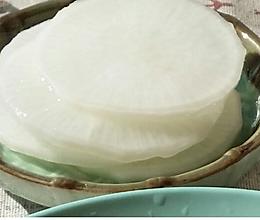 韩式小菜白萝卜的做法