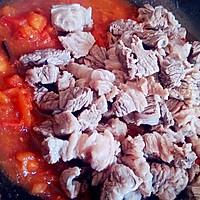 【番茄土豆炖牛腩】冬季炖菜的做法图解5