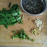 河虾炒韭菜的做法图解3