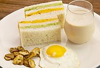 番薯牛油果三明治与乌龙奶茶|太阳猫早餐的做法