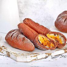 可可红薯麻薯软欧包#美味烤箱菜,就等你来做!#