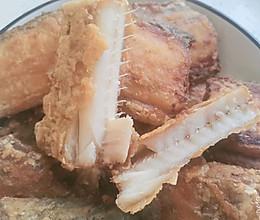 香炸带鱼的做法