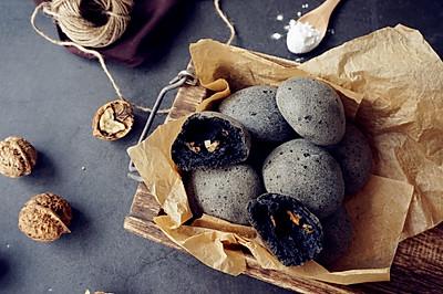 黑麻石麻薯包
