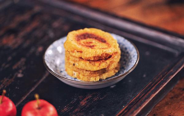 香甜柿子糯米饼