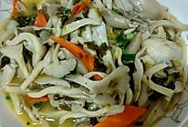炒平菇的做法