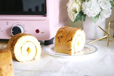 肉松酒酿蛋糕卷