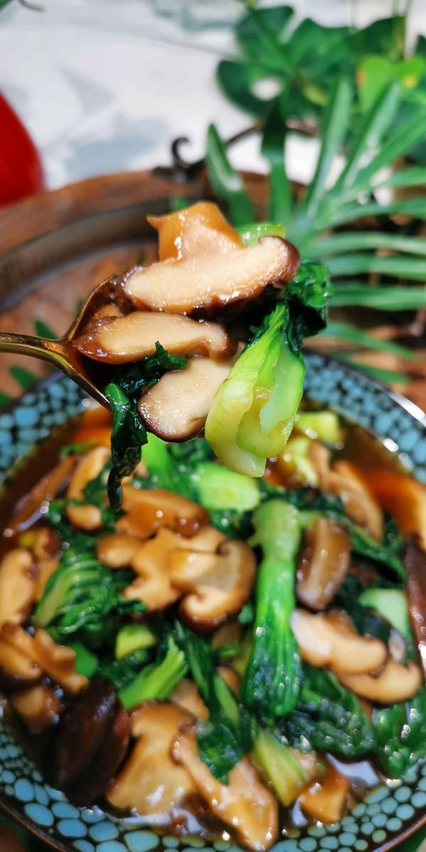 青菜怎么洗?【青菜香菇素食【❤️】蜜桃爱营养师私厨的做法