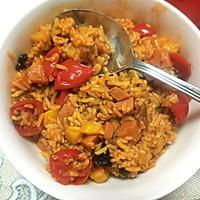 番茄燜飯的做法圖解5