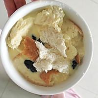 快手早餐~蛋奶吐司布丁的做法图解3