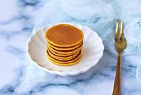 #晒出你的团圆大餐# 宝宝辅食之南瓜米粉松饼的做法
