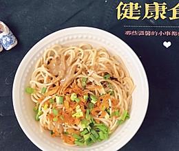十分钟健康早餐—武汉热干面的做法